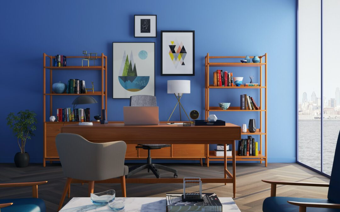 4 Tips For A Clean and Inviting Home Office
